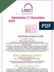 LINC Newsletter 7th Dec 2011