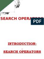 Search Operators in SEO