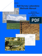 Soil Survey Laboratory Methods Manual