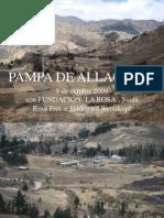 Pampa de Allago, 9 de Octubre 09