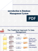 evolution of database management system