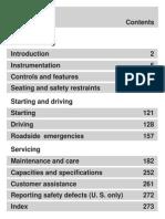 2000 Focus Owner Guide Manual