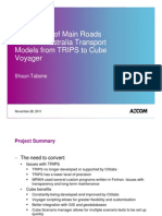 1.7 - Conversion of Models from TRIPS to Cube Voyager