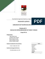 Practica 2 - Calculo de Inter Cam Bi Adores de Tubos y Coraza