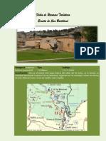 Ficha de recursos turísticos Ermita de San Bartolomé