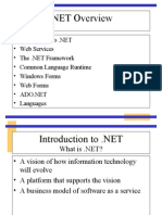 Introduction to DOTNET
