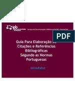 GUIA PARA ELABORAÇÃO CITAÇÕES E REFERÊNCIAS