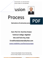 Extrusion Process - Hani Aziz Ameen