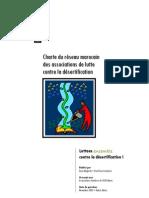 Charte du réseau marocain des associations de lutte contre la désertification