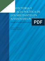 Libro Trayectoria y Eficacia Politica de los Militantes en Juventudes Politicas