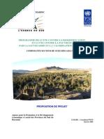 Programme de la lutte contre la désertification et de la lutte contre la pauvreté par la sauvegarde et la valorisation des oasis