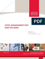 Hotel Management Fees Miss the Mark
