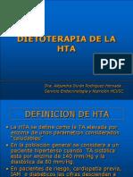 dieta de la HTA