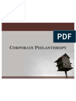 Corporate Philanthropy
