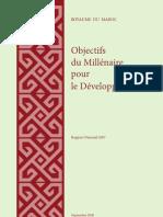 Objectifs du Millénaire pour le Développement (Maroc)