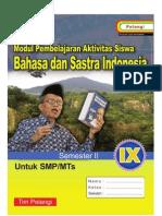BHS IND SMP 9 Semester 2 Penulis MGMP Bahasa Indonesia Kota Bukittingga