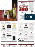 Wine Enthusiast Top Wines of 2011.