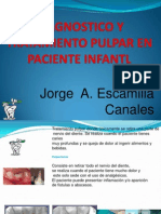 Diagnostico y Tratamiento Pulpar en Paciente Infantl