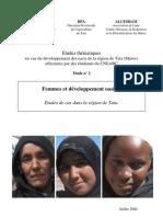 Femmes et développement oasien