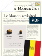 Pierre Marcolini Newsletter UK October 2011