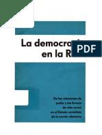 La Democracia en La RDA
