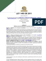 LEY 1453 DE 2011