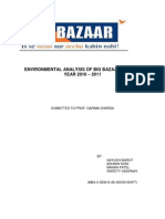 Environmental Analysis of Big Bazaar for the Year 2010