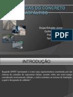 Patologias do concreto asfáltico