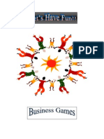 Training and Development Business Game