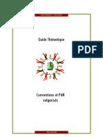 Conventions et PAN vulgarisés