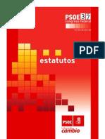 Estatutos PSOE 37 Congreso Federal