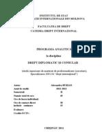 14. Curriculum diplom Consular IRIM Masterat 2011-2012