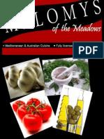 a3 melomy new menu