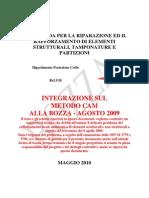 ReLUIS Linee Guida Riparazione e Rafforzamento Integrazione Maggio2010 MetodoCAM