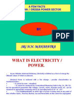 Indian-Orissa Power Sector- Presentation
