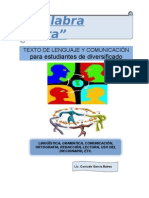 TEXTO DE COMUNICACIÓN Y LENGUAJE. CONRADO GARCÍA.