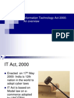 Information Technology Act 2000 an Overview