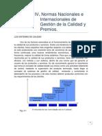5.-Unidad 4 Normas Nac. e Internac. de Gestion de La Calidad y Premios