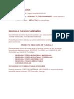 REGIUNILE PLEURO-PULMONARE