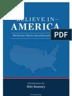 BelieveInAmerica–MittRomney–PlanForJobsAndEconomicGrowth
