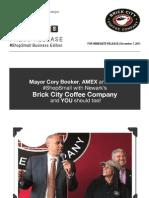 #ShopSmall With Brick City Coffee Company