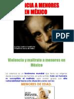 Violencia a menores en México
