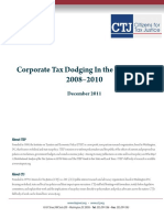 Corporate Tax Dodging in 50 States