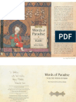 Words of Paradise Selected Poems of Rumi Raficq Abdulla