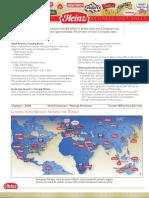 Heinz Company Factsheet 2010