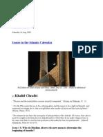 Khalid Chraibi - Issues in the Islamic Calendar