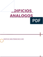 EDIFICIOS ANALOGOS