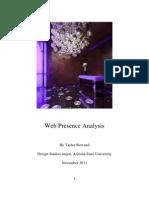 TWC301 Web Analysis