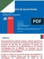 Posta de Salud Rural Chile Bio Bio 2011-2015