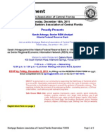 December 2011 Announcement Rsvp